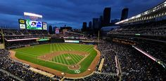 New home of the Minnesota Twins.  Visited for the first time this year - saw 3 games!!