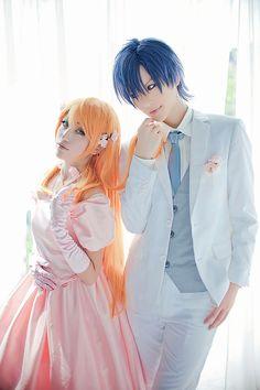 Love Stage!! Cosplay - Izumi and Ryouma : Happy Wedding