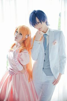 Love Stage!! Cosplay - Izumi and Ryouma : Happy Wedding