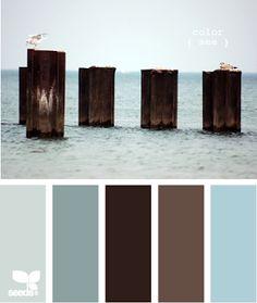 Cherishing A Sweet Life: Master bedroom Coastal Color Palettes