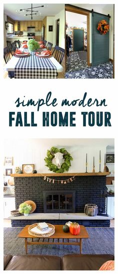 Hello Fall Home Tour. English FarmhouseFall Home DecorFall ...