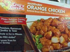 Crazy Cuizine Mandarin Orange Chicken from Costco Costco Shopping, Orange Chicken, Meat Chickens, Grandkids, Kids Meals, Nashville, Entrees, Wednesday, Blogging