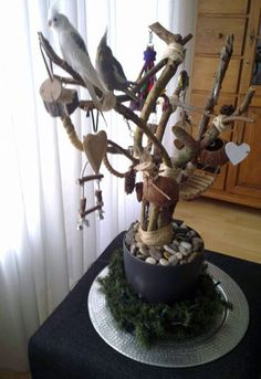 Diy Bird Tree Stand Google Search Parrot Stand Parrot