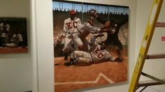 The Negro League Museum has an exhibition opening tomorrow featuring jerseys, artifacts and two works by Kadir Nelson