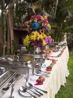 Una decoración de boda al puro estilo andino Image: 4