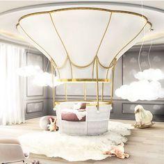 20 Luxury Dining Room with Gold Details - Kids Bedroom / Playroom - Cool Beds For Kids, Kids Bedroom Furniture, Bedroom Ideas, Luxury Furniture, Furniture Ideas, Nursery Ideas, Furniture Design, Cheap Furniture, Children Furniture