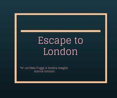 Escape To London le sue truffe - http://truffealondra.com/2015/01/escape-london-le-sue-truffe/