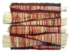 1194km: Sheila Hicks. textile mixed media art weaving contemporary abstract installation