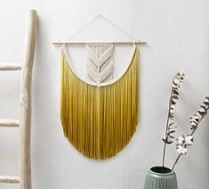 Medium Macrame Wall Hanging  Macrame Curtains  Macrame Wall