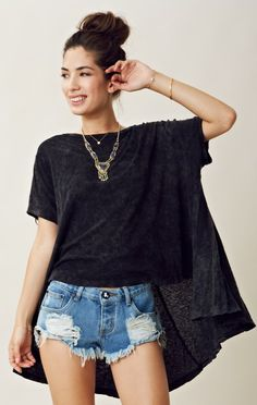 Free People CIRCLE IN THE SAND TEE $78.00 Sale $39.00