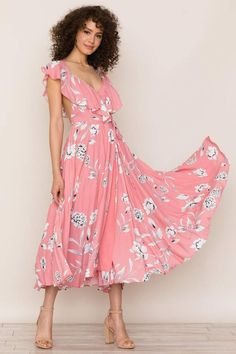 54bf599ce06 Yumi Kim Bouquet Dress  dresses  skirts  skirtoutfits Wrap Dress Floral