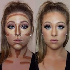 Easy contouring for beginners Image 1 - Makeup Secrets makeup kit, . Easy contouring for beginners Image 1 - Makeup Secrets makeup case, # MAKEUP # Secrets # TutorialfürGesichtsmakeup <-> Easy Contouring, Contouring For Beginners, Makeup For Beginners, Contouring And Highlighting, How To Contour For Beginners, How To Contour Your Face, How To Blend Contouring, Makeup Tips Contouring, Make Up Beginners