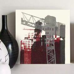 quadro decorativo city space