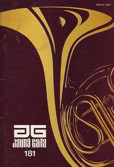 80 Retro Jauna Gaita Magazine Covers | Abduzeedo Design Inspiration