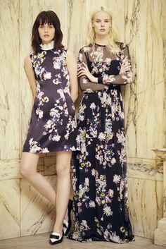Erdem Londra - Pre-Spring 2014 - Shows - Vogue. Fashion News, Fashion Beauty, Fashion Show, Fashion Design, Women's Fashion, Floral Fashion, Spring Fashion, High Fashion, 2014 Trends