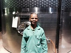 Cellar Master Awie Adolf has been working at Fairview for 32 years!