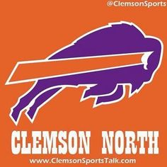 Clemson North -- learning to be a Bills fan!