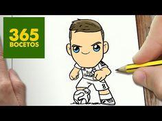 COMO DIBUJAR TONI KROOS KAWAII PASO A PASO - Dibujos kawaii faciles - How to draw a Toni Kroos - YouTube