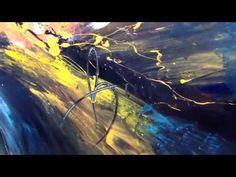 ▶ Sometimes I wonder painting, by Dan Bunea, living abstract paintings, www.danbunea.ro - YouTube