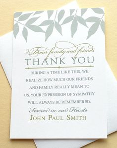 words for thank you notes