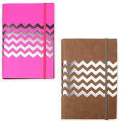 Neon Leather Notebook And Rubber Set