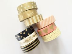 Washi Tape Set of 3 - Value Set