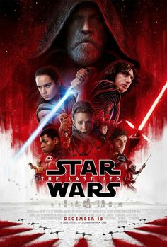Star Wars: The Last Jedi official movie poster