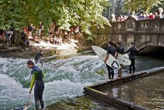 The Mecca of river surfing is in Germany?