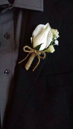 A boutonnière my handsome cowboy doesn't hate!