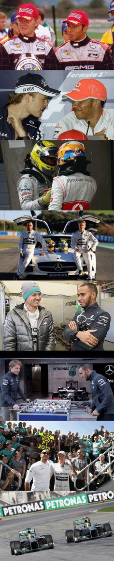 Lewis and Nico - Teammates