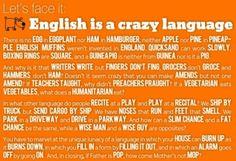 #Englisch ist schon eine #verrückte #Sprache :-)
