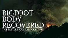 BIGFOOT BODY RECOVERED - Firefighters Capture Bigfoot Creature - Government Cover-Up - MBM 113 - YouTube Bigfoot Documentary, Bigfoot Sightings, Wildland Firefighter, Firefighters, Ghosts, Monsters, Documentaries, Cover Up, Creatures