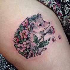Tattoo, Igel