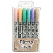 Tim Holtz Distress Crayons Set #5 TDBK51756
