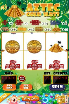 Love Aztec Gold, Love Slots - You will love this game. Get your daily lucky fix intake while having fun with some cool Aztec Gold fun.