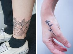 21 Delicate Botanical Tattoos To Inspire You