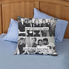 """5 seconds of summer pillow case two sides 20 """"x 20"""" pillow cover #Disney"""