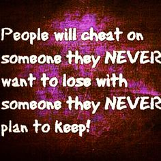 Yep. If you get involved with someone that is married, you will most likely not end up together. No fairy tale begins with, Im waiting for my lover to leave their spouse.  OH SNAP
