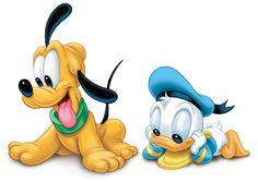 Baby Donald & Pluto