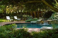 pools for small backyards | ... Ideas » Small Pool Beautiful Backyard Design Empty Nesters Home Image