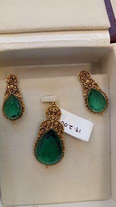 Sagar Jewellers                                                                                                                                                                                 More Gold Earrings Designs, Gold Jewellery Design, Gold Jewelry, Jewelery, Gold Designs, India Jewelry, Temple Jewellery, Jewelry Patterns, Diamond Design
