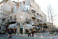 JR - 28 Millimeters, Face2Face (Israel & Palestine) - Cooks, Jerusalem, Ben Yehuda, 2007