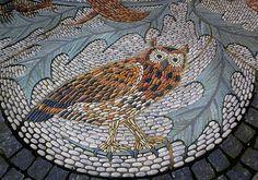 Owl Pebble Mosaic by Dun Deagh, via Flickr
