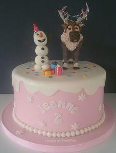 Olaf en Sven vieren feest