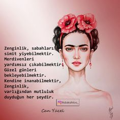 """4,239 Beğenme, 9 Yorum - Instagram'da Adem Turan (@fridakahloo_): """"Zenginlik, iyi ki varsın diyebileceğin biriyle ömür geçirmektir. . . #frida #fridakahlo…"""""""
