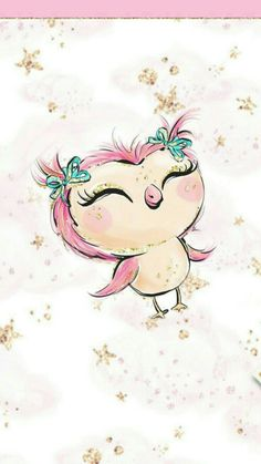 48 Ideas Wallpaper Watercolor Flamingo For 2019 Owl Wallpaper, Wallpaper Backgrounds, Art And Illustration, Manga Kawaii, Unicorn Art, Jolie Photo, Owl Art, Cute Owl, Cute Drawings
