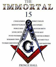 Prince Hall is not normal Masonry.  Do your homework before lumping it all together.