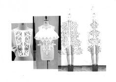 Fashion Sketchbook - laser cut fashion design development; fashion portfolio // Amy Davidson