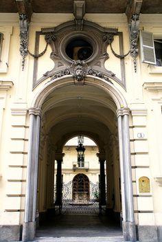 Torino, Via Bligny, Palazzo Cotti di Brusasco