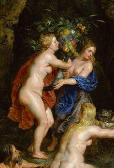 The Feast of Acheloüs (detail), ca. 1615  Peter Paul Rubens